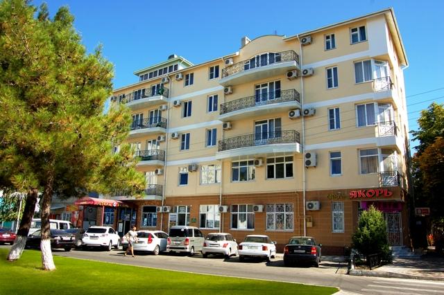 """Отель """"Якорь"""" Анапа центр города"""